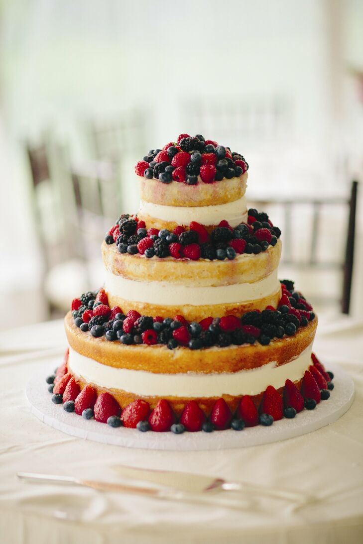Three-Tier Fruit Cake