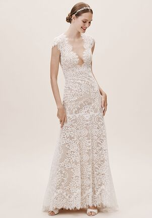 BHLDN Philomene Gown Mermaid Wedding Dress