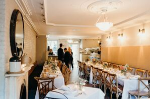 Intimate Restaurant Reception