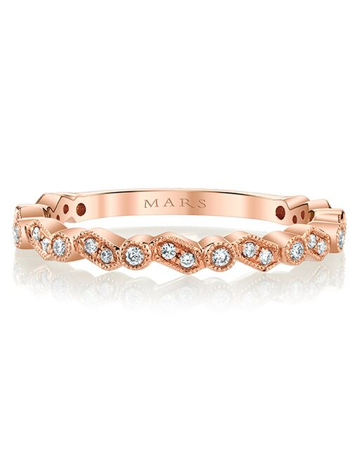 MARS Fine Jewelry MARS Jewelry 27275 Band Gold, Rose Gold, White Gold Wedding Ring