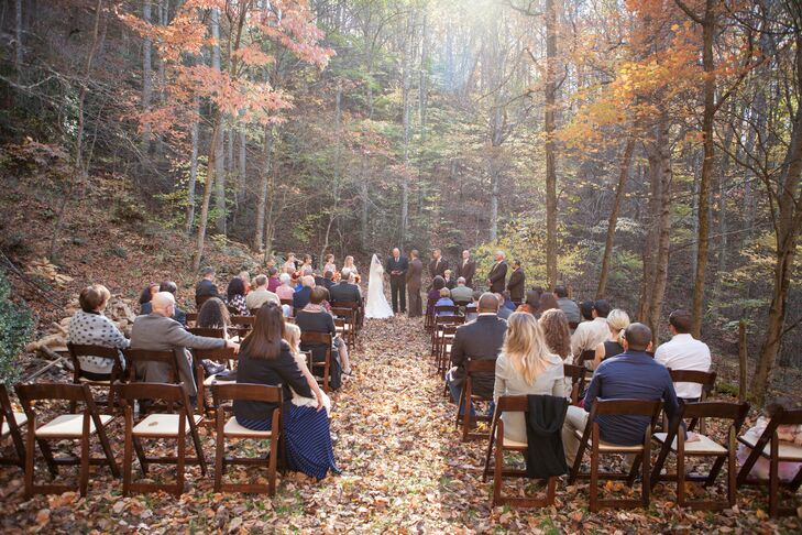 North Carolina Backyard Fall Wedding