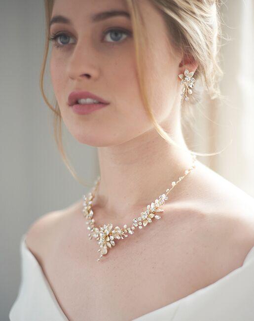 Dareth Colburn Camilla Floral Jewelry Set (JS-1692) Wedding Necklaces photo
