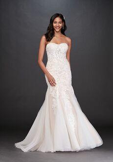 David's Bridal David's Bridal Style WG3964 Mermaid Wedding Dress