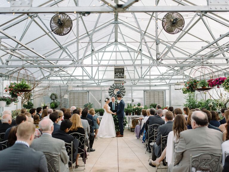 greenhouse wedding ceremony venue