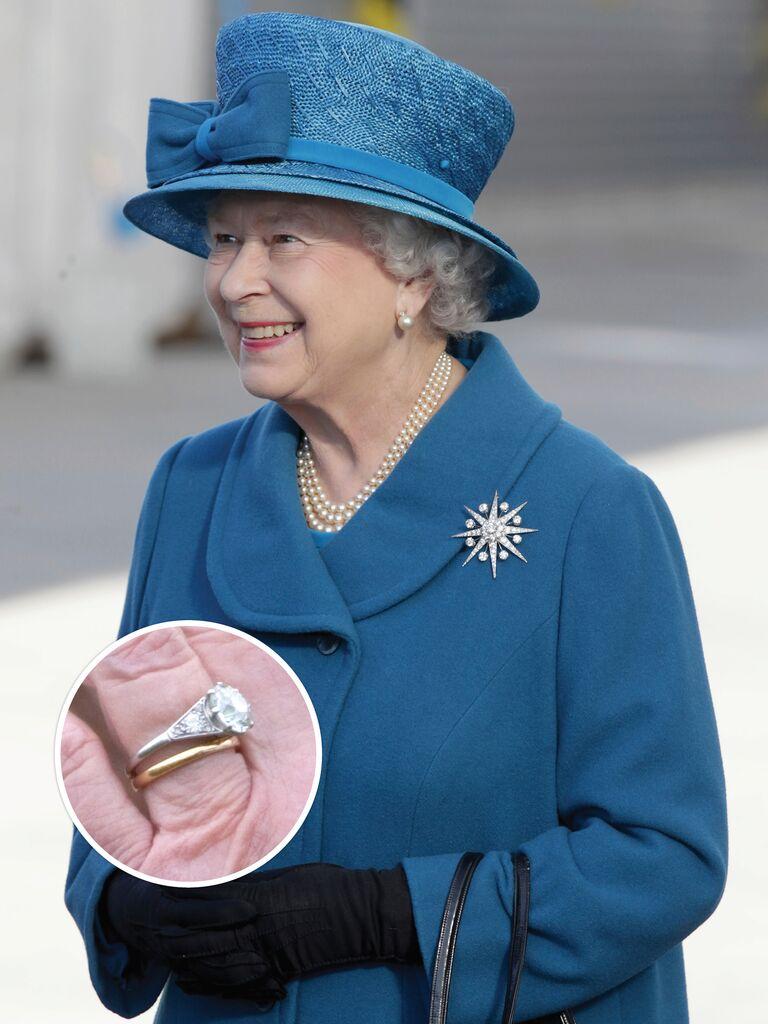 Queen Elizabeth II's engagement ring