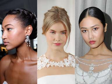 The Prettiest Bridal Beauty Looks From The Runway