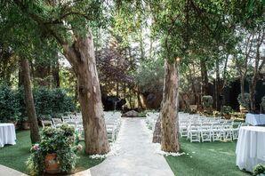 Simple, Elegant Garden Ceremony