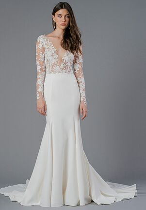 Jenny Yoo Collection Lisette Mermaid Wedding Dress
