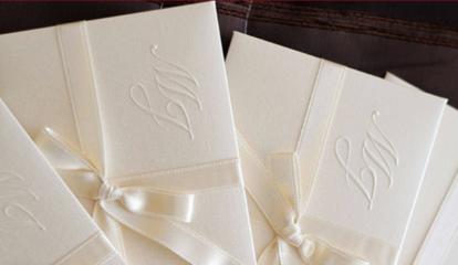 La Mos Printing Typing Wedding Invitations