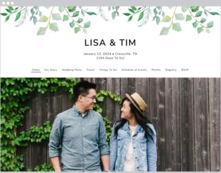 Leafy Ampersand Design