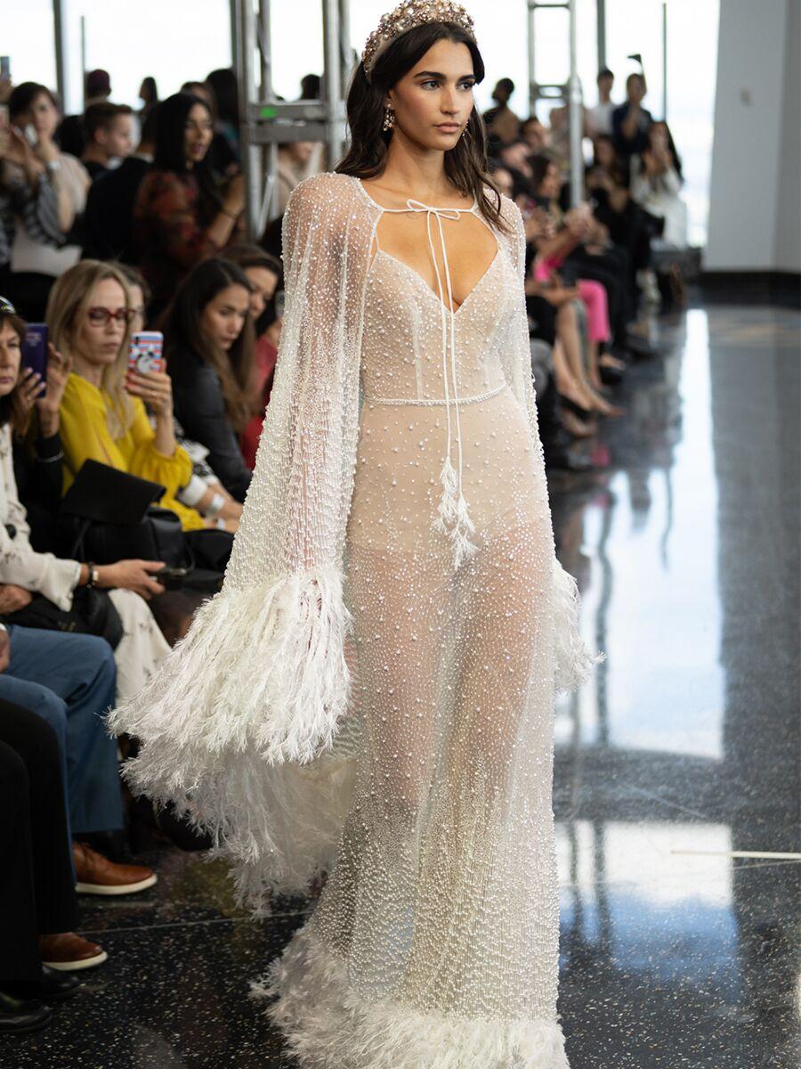 berta-wedding-dresses-fall-2020-feathers