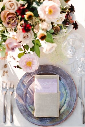 Iridescent Lavender Dinnerware