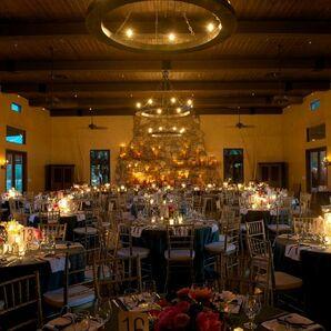 Candlelight Reception Decor