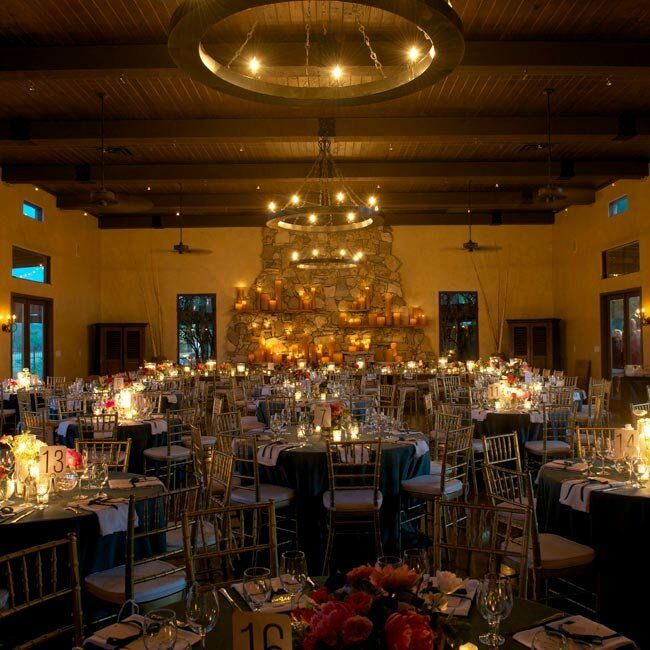 Candlelight Reception Decor