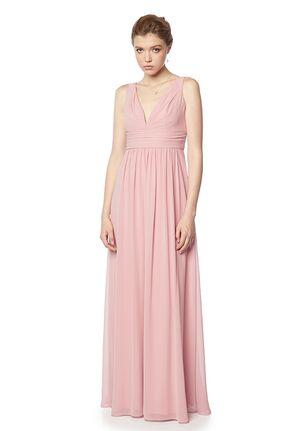 #LEVKOFF 7136 V-Neck Bridesmaid Dress