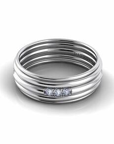 Danhov Classico Round Band White Gold White Gold Wedding Ring