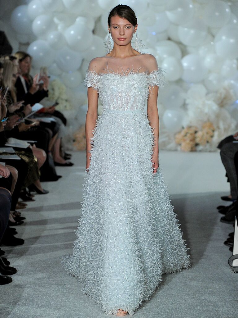 Mira Zwillinger Spring 2018 Collection: Bridal Fashion Week Photos