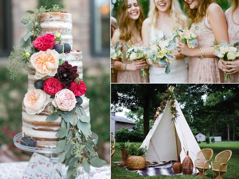 Ideas for a bohemian themed wedding