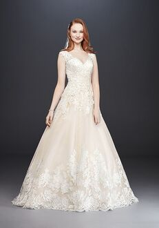 David's Bridal David's Bridal Collection Style WG3850 Ball Gown Wedding Dress