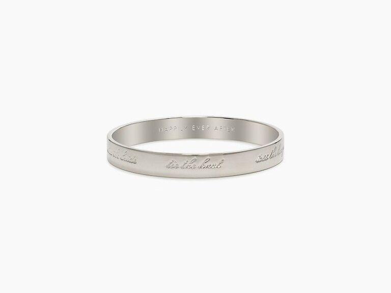 Kate Spade bride bracelet bachelorette party gift
