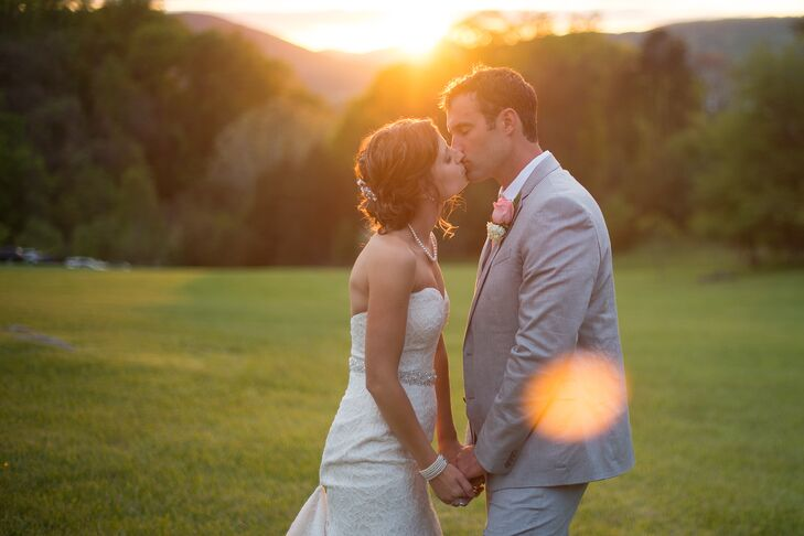 Romantic Country Backyard Wedding