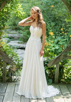 Lillian West 66021 A-Line Wedding Dress