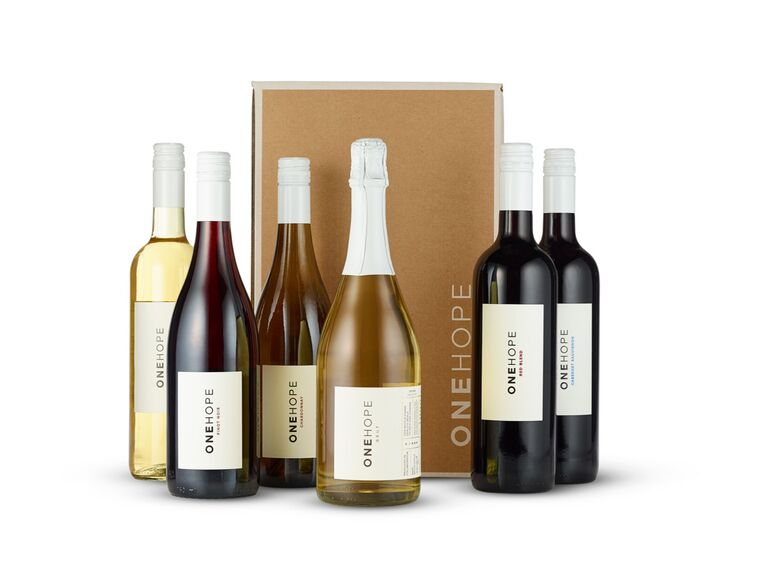 Long-distance dad gift wine box