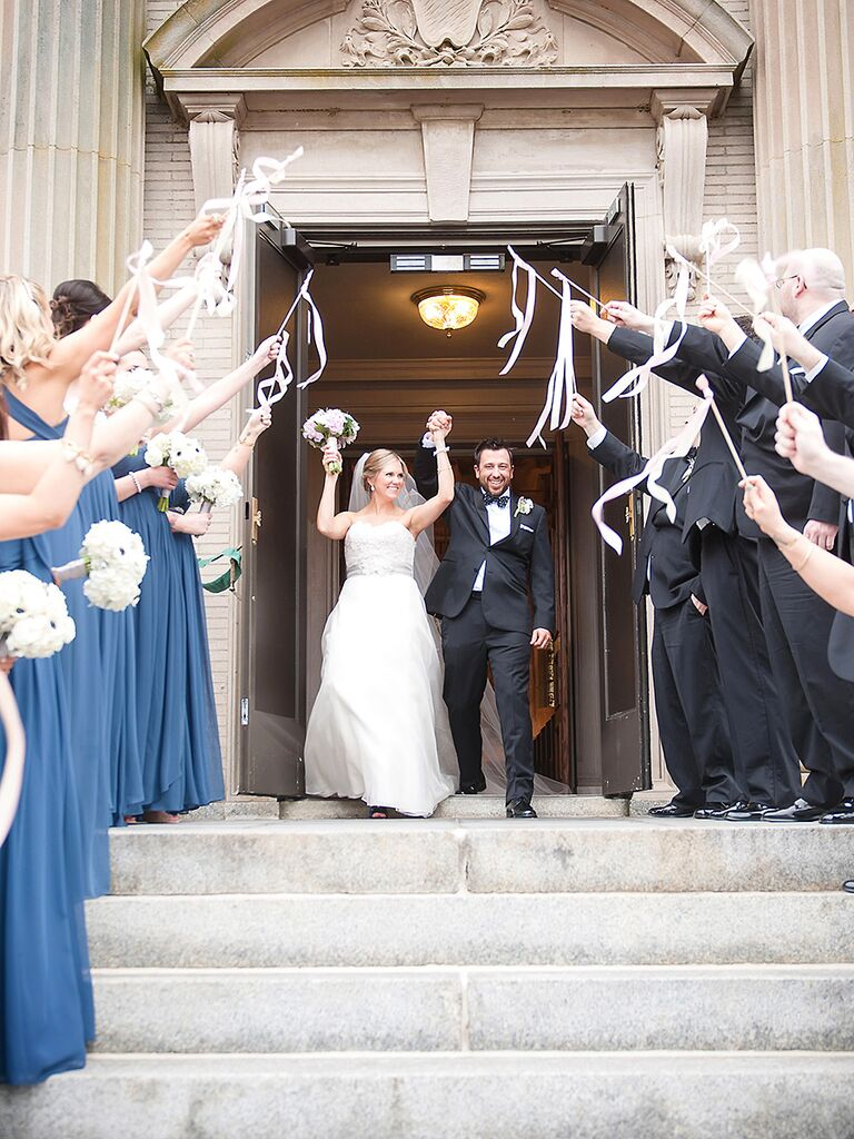 Creative Wedding Exit Toss Ideas
