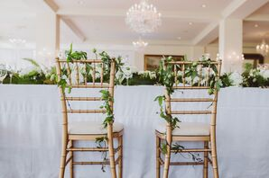 Ivy Garland Reception Chair Markers