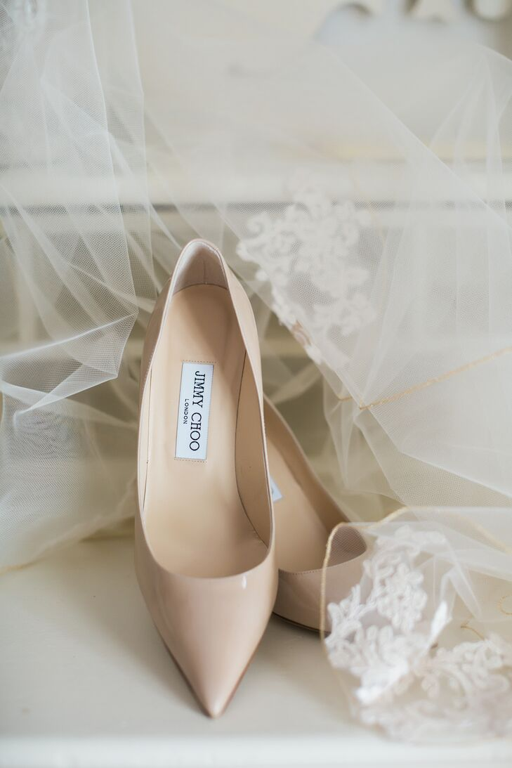 Nude Jimmy Choo Pumps