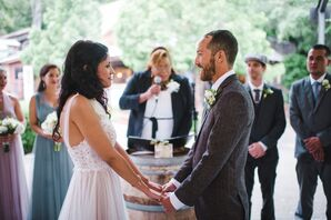 Green Mountain Ranch Pavilion Wedding Ceremony