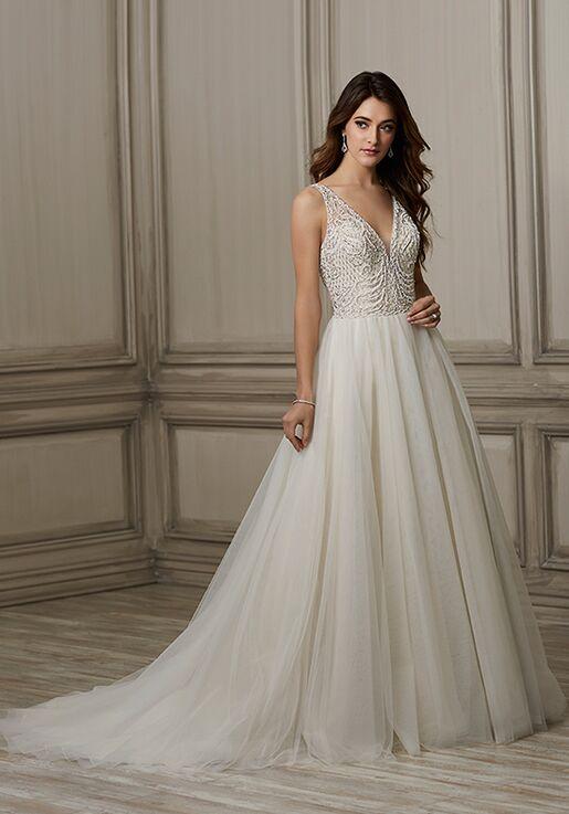 6c2a9593dc Adrianna Papell Platinum Brooke Wedding Dress - The Knot