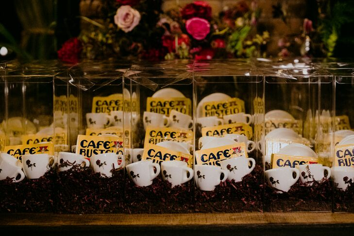 Coffee Cup Wedding Favors