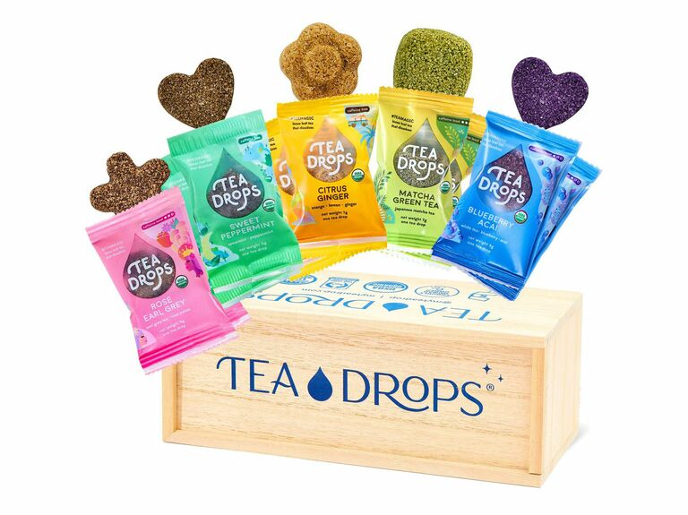 Tea Drops organic tea gift box