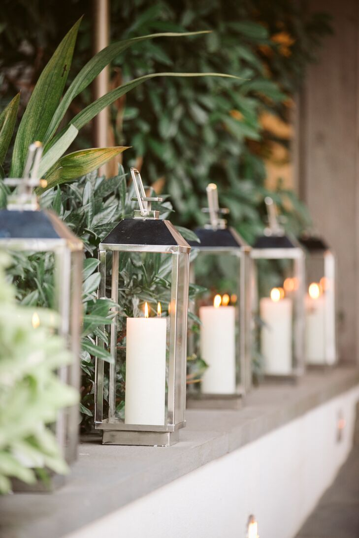 Ambient Pillar Candle Lanterns