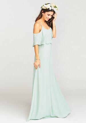 e895e40e01d Show Me Your Mumu Caitlin Ruffle Maxi Dress Scoop Bridesmaid Dress