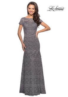 La Femme Evening 26875 Black Mother Of The Bride Dress