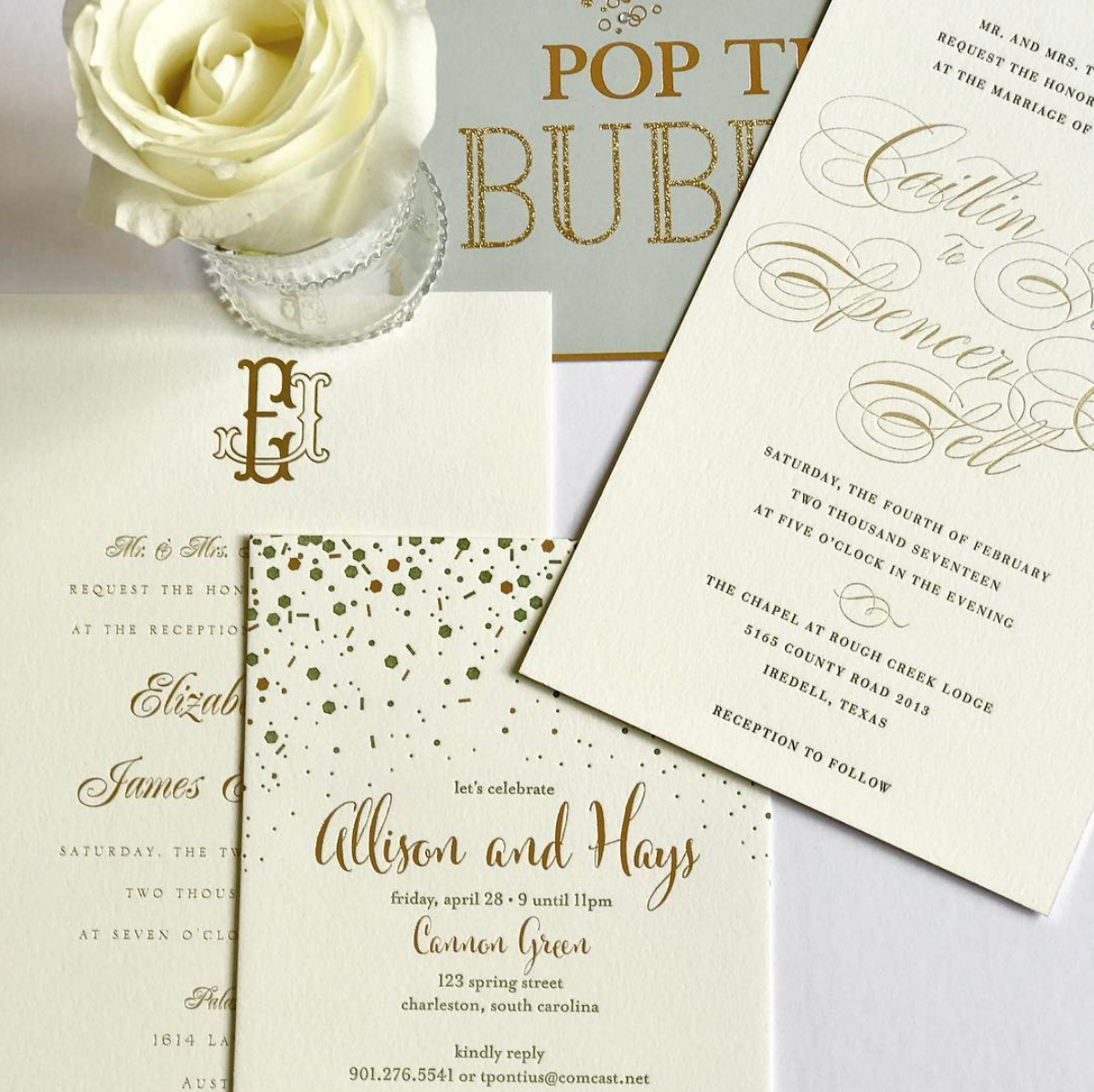 Invitations + Paper in Charlotte, NC - The Knot