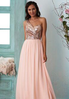 B2 Bridesmaids by Jasmine B203013 One Shoulder Bridesmaid Dress
