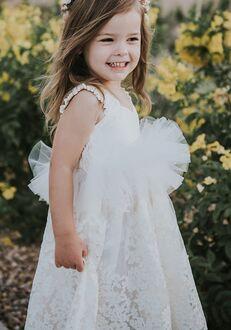 FATTIEPIE lille ivory Flower Girl Dress