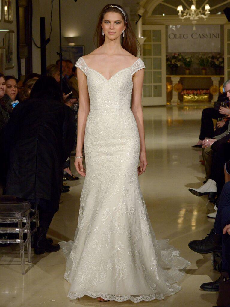 Oleg Cassini Spring 2019 Collection Bridal Fashion Week Photos