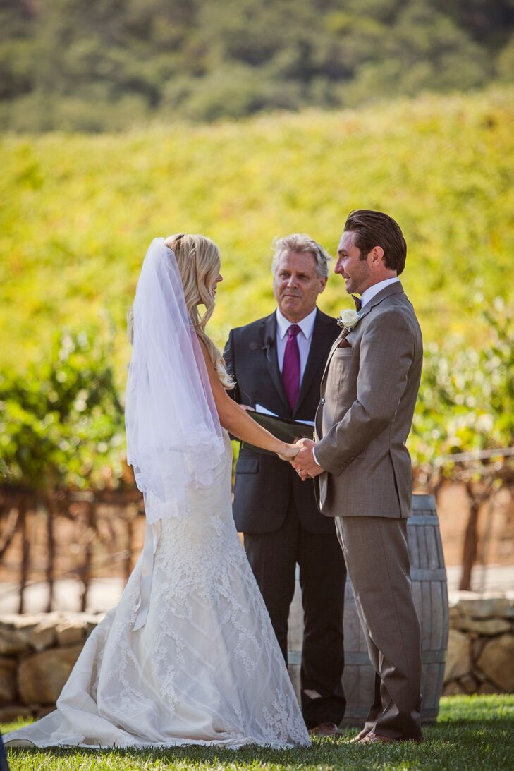 Outdoor Vineyard Ceremony