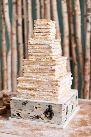 Square Wedding Cake Sfogliatelle
