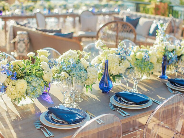 Wedding Centerpieces hydrangea
