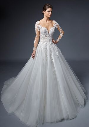 ÉLYSÉE REINE A-Line Wedding Dress