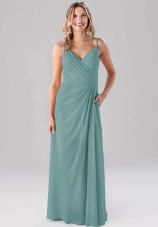 Kennedy Blue Sarah V-Neck Bridesmaid Dress