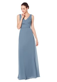 Bill Levkoff 7073 V-Neck Bridesmaid Dress