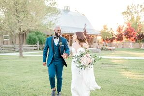 Romantic Couple at Stonefields Estate in Beckwith, Ontario