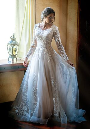 Modest by Mon Cheri TR11972 A-Line Wedding Dress