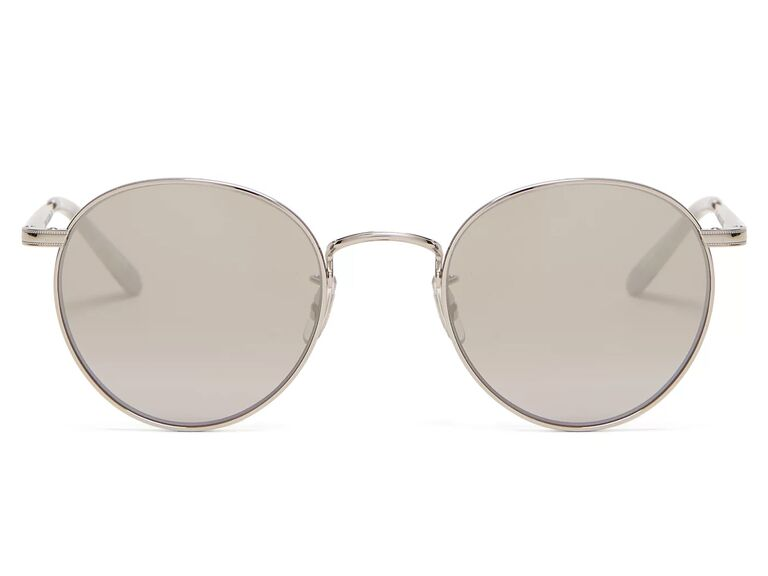 Silver anniversary gift sunglasses for husband